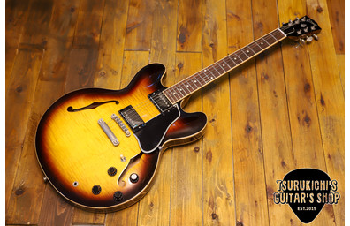 Gibson Custom Shop 2009 ES-335 Dot Reissue Sunburst Memphis Factory