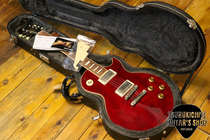 鶴吉ギターズ!最新入荷情報!GIBSON 60s LES PAUL STANDARD Wine Red 2005