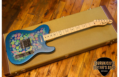 Fender Japan Made in Japan Traditional 69 Telecaster Blue Flower